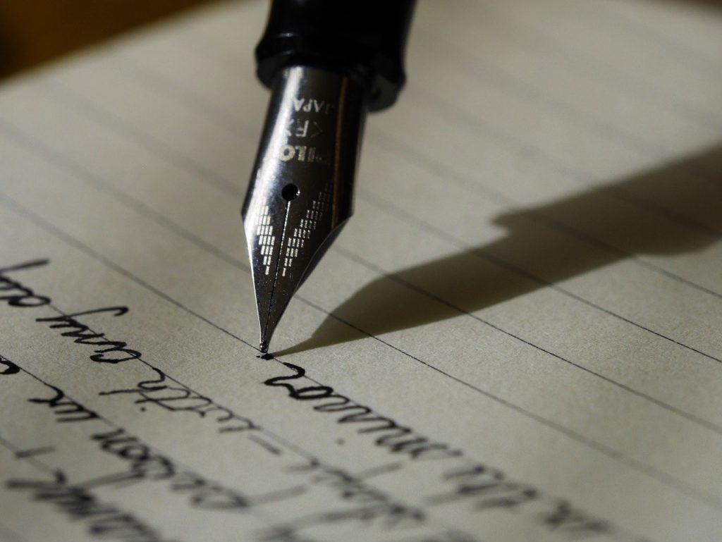 Füller Schönschrift
